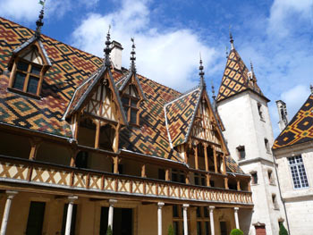 Hospiz in Beaune, Burgund