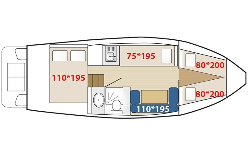 image Vistula Cruiser 305